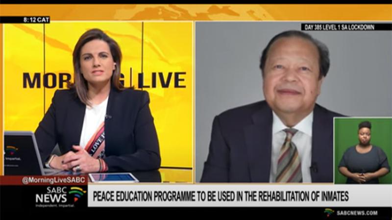 Prem Rawat in Sudafrica per la diffusione del PEP